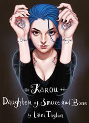 My Fave Female Character: Karou by BlackBirdInk