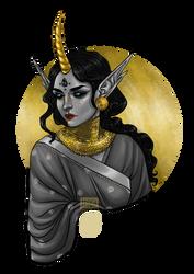 Gold n Monochrome__Disquiet