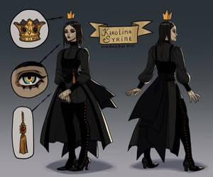 Character Reff-sheet Karolina Syrine