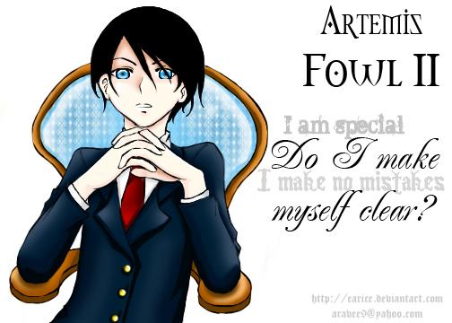 Artemis Fowl by Earice