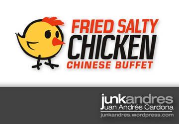 Fried Salty Chicken Logo