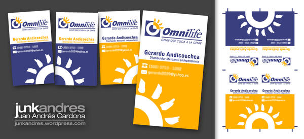 Omnilife Business Card