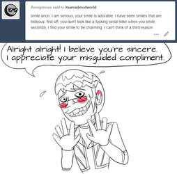 Mad Mod Answers: Smile Part 2 by Robyn-Kitty