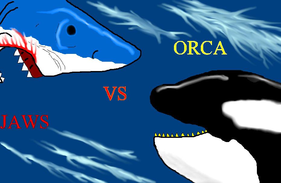 Orca Vs Jaws By Tai91 On Deviantart