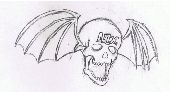 Avenged sevenfold drawing by sirlorescar
