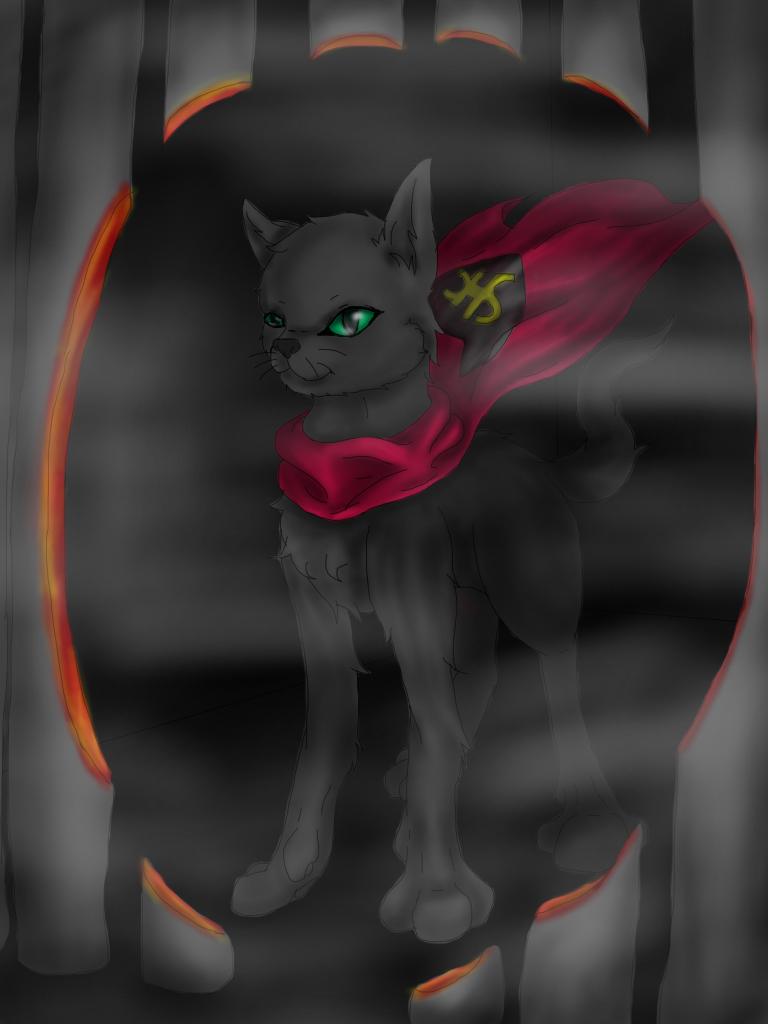 N2 The talking cat by nataliearrow
