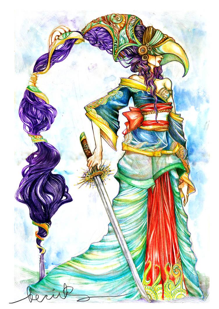 Ceremonial Warrior Princess