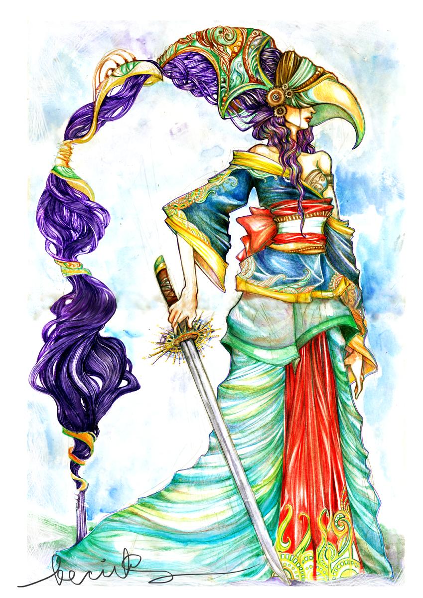 Ceremonial Warrior Princess by aegia