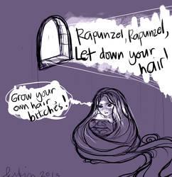 If I Were Rapunzel... by aegia