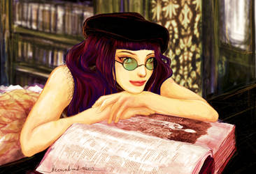 Lady Rii Astarell by aegia