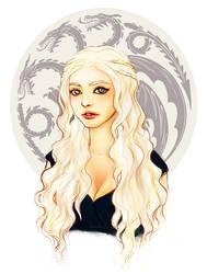Portrait of a Khaleesi