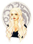 Portrait of a Khaleesi