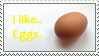 I like eggs by Infinitystamps