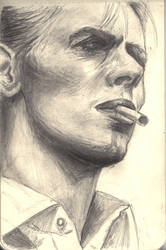 R.I.P. David Bowie by maria-dk