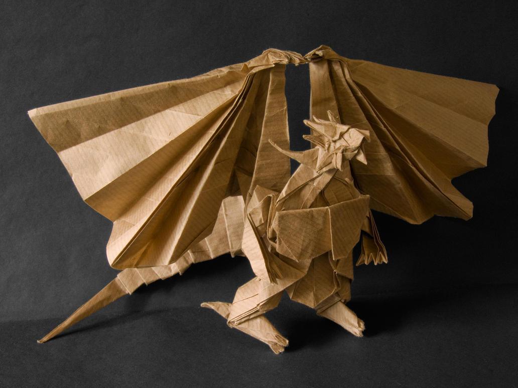 Divine dragon 2 by Anna115Origami Divine Dragon