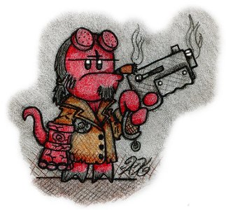 Hellboy by AK-Is-Harmless