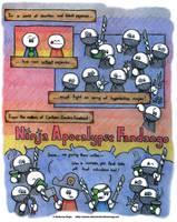 Ninja Apocalypse Fandango by AK-Is-Harmless