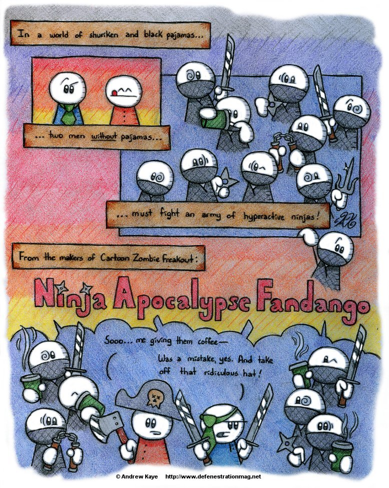 Ninja Apocalypse Fandango by AK-Is-Harmless
