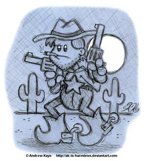 Sketch - Cowboy