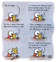 Dear Ms. Hayek... by AK-Is-Harmless