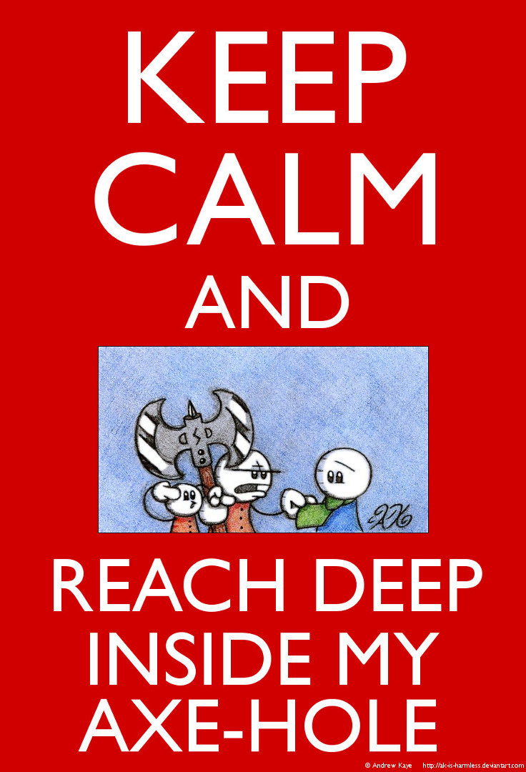 Keep Calm - Ben and Winslow by AK-Is-Harmless
