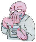Dr. Zoidberg Of Futurama