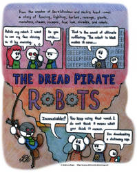 The Dread Pirate Robots by AK-Is-Harmless