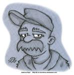 Futurama - Scruffy by AK-Is-Harmless