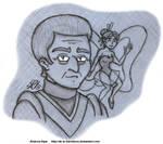 Futurama - Katrina and Xanthor by AK-Is-Harmless