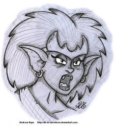 Sketch - Demona