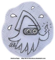 Sketch - Blooper by AK-Is-Harmless
