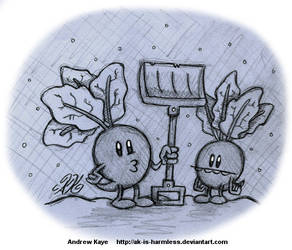Sketch - Beets Shoveling Snow by AK-Is-Harmless