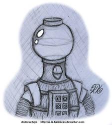 Sketch - Tom Servo by AK-Is-Harmless