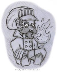 Sketch - CeeHaz's Rom by AK-Is-Harmless