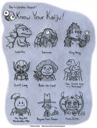 Know Your Kaiju by AK-Is-Harmless
