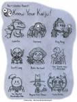 Know Your Kaiju