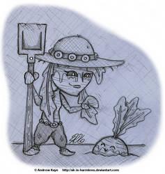 Sketch - Neep Gardener by AK-Is-Harmless