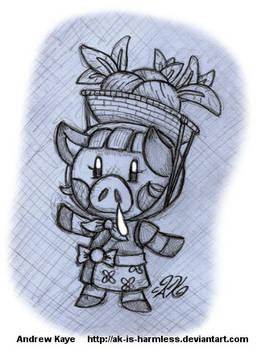 Animal Crossing - Daisy Mae