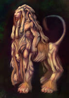 Splice- human lion mix by rockleefan
