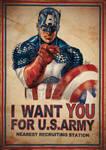 Captain America Want U