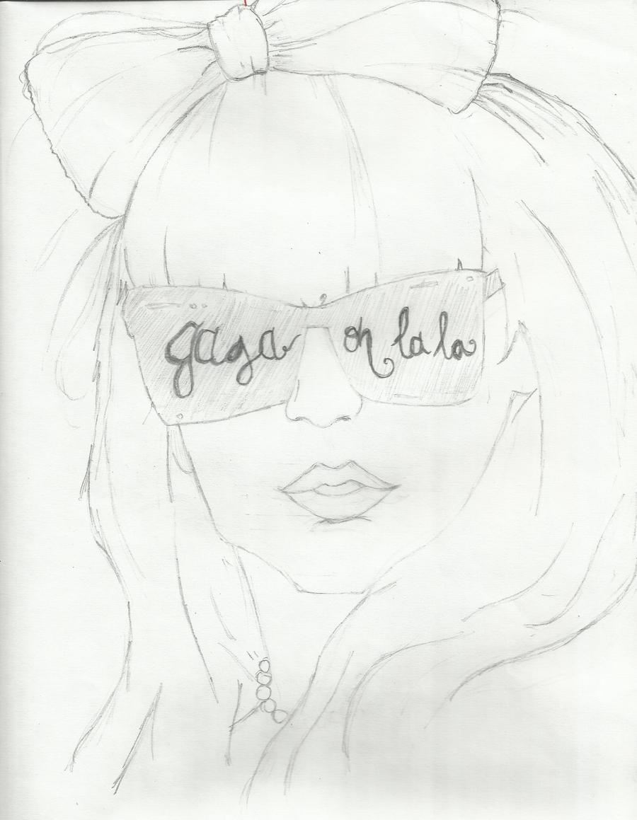 Hello Gaga. by sherinderella