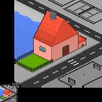 Pixel Village by Undeerground