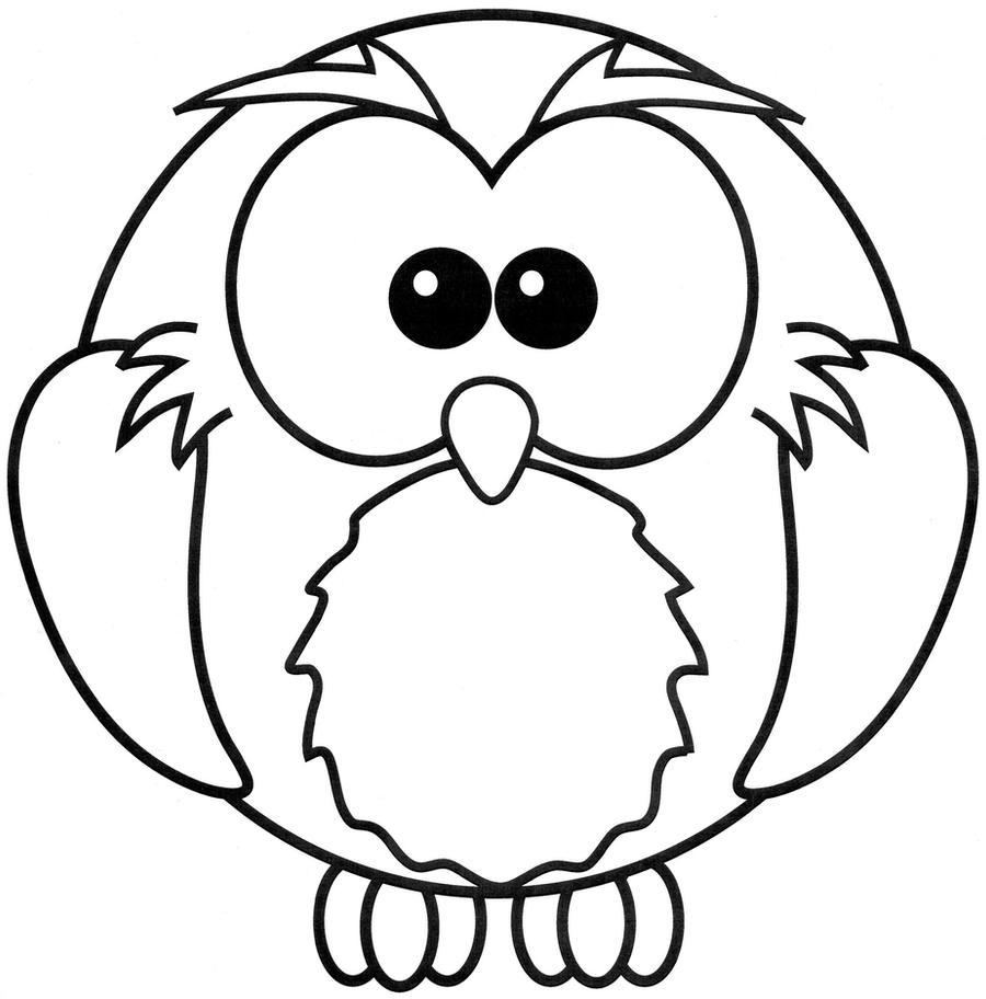 Line Art Owl : Owl lineart by tomboy chan on deviantart