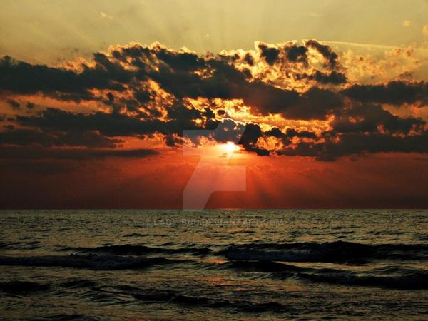 Sunset IV by lady-buu