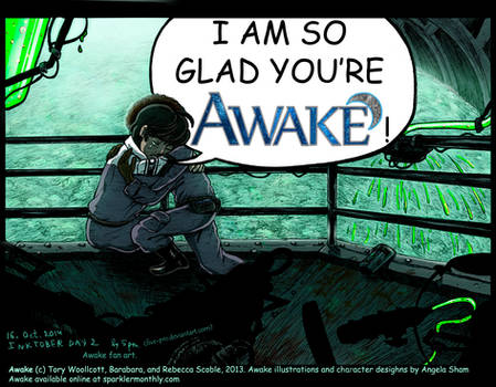 Glad You're Awake (color)