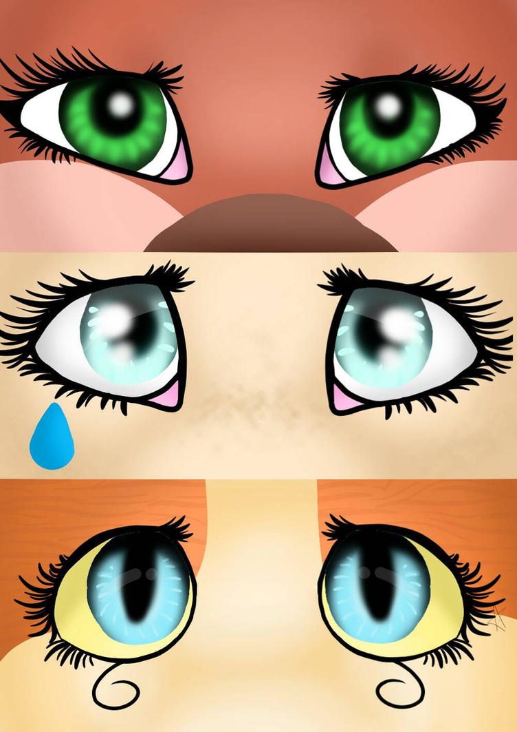 eyes by lessi143