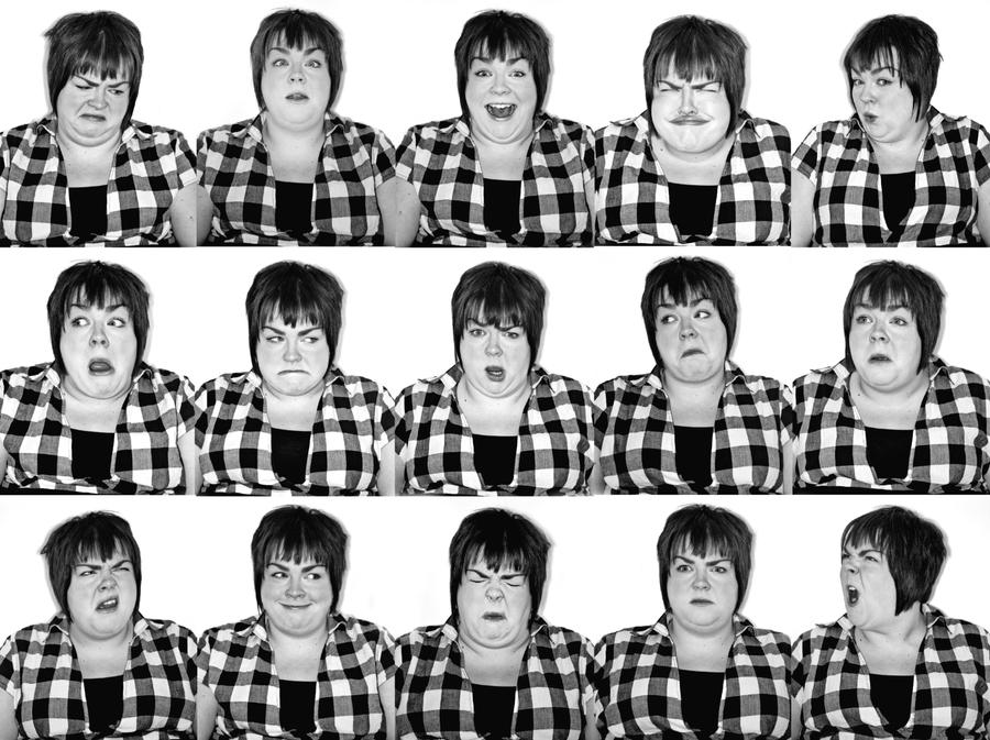 Actors Collage Laura by ImogenBanks