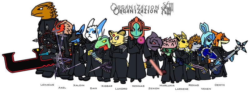 organization 13 hentai