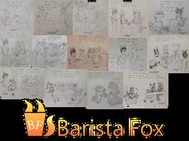 Barista Fox Pic Collection 1