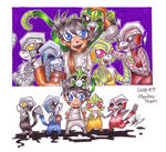 CHIBI III - Monkey Team